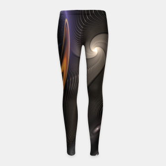 Thumbnail image of Imperial Wrap Girl's leggings, Live Heroes