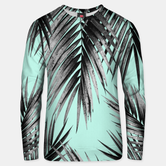 Thumbnail image of Palm Leaf Jungle Vibes #2 #tropical #decor #art Unisex sweatshirt, Live Heroes