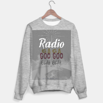 Radio Blah Blah Sweater regular Bild der Miniatur