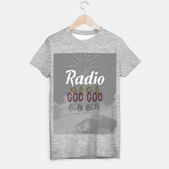 Radio Blah Blah T-shirt regular Bild der Miniatur