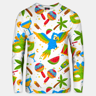 Thumbnail image of Brazilian carnival Unisex sweater, Live Heroes
