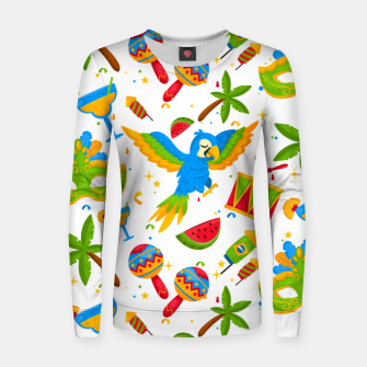 Thumbnail image of Brazilian carnival Women sweater, Live Heroes