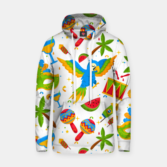 Thumbnail image of Brazilian carnival Hoodie, Live Heroes