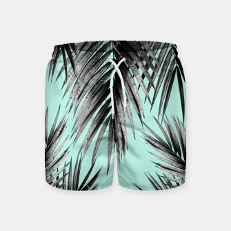 Thumbnail image of Palm Leaf Jungle Vibes #2 #tropical #decor #art Badeshorts, Live Heroes