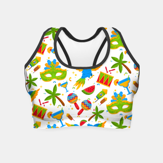 Thumbnail image of Brazilian carnival Crop Top, Live Heroes