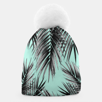 Thumbnail image of Palm Leaf Jungle Vibes #2 #tropical #decor #art Mütze, Live Heroes