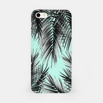 Thumbnail image of Palm Leaf Jungle Vibes #2 #tropical #decor #art iPhone-Hülle, Live Heroes