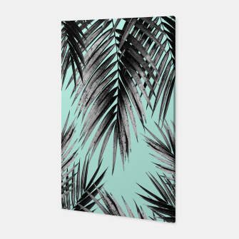Thumbnail image of Palm Leaf Jungle Vibes #2 #tropical #decor #art Canvas, Live Heroes