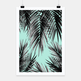 Thumbnail image of Palm Leaf Jungle Vibes #2 #tropical #decor #art Plakat, Live Heroes