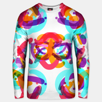 Thumbnail image of Power colorful abstract art Unisex sweater, Live Heroes