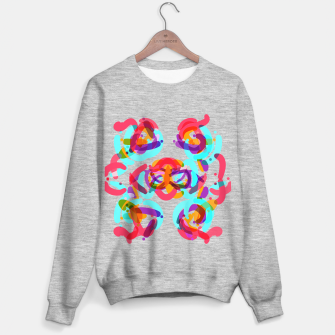 Thumbnail image of Power colorful abstract art Sweater regular, Live Heroes