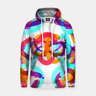 Thumbnail image of Power colorful abstract art Hoodie, Live Heroes