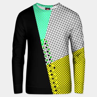 Thumbnail image of Geometric pop I Unisex sweater, Live Heroes