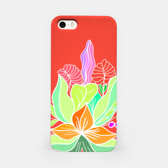 Thumbnail image of Colourful floral illustration on popcolors iPhone Case, Live Heroes