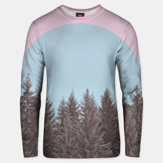 Thumbnail image of Frosty forest Unisex sweater, Live Heroes