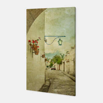 Thumbnail image of Vintage Grunge Arequipa Street, Peru Canvas, Live Heroes