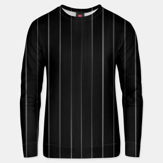 Thumbnail image of Dark Linear Abstract Print Unisex sweater, Live Heroes