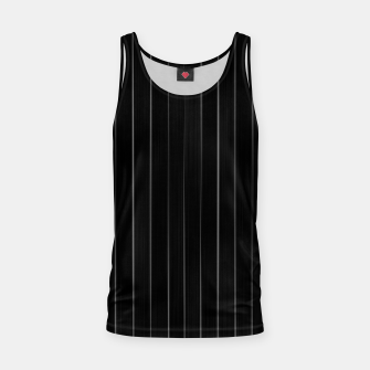 Thumbnail image of Dark Linear Abstract Print Tank Top, Live Heroes