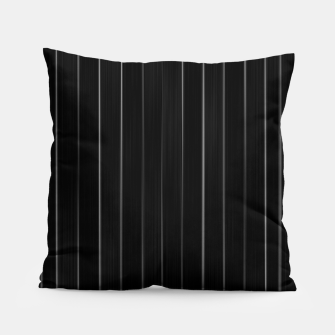 Miniaturka Dark Linear Abstract Print Pillow, Live Heroes