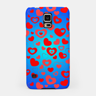 Thumbnail image of Love in Blue Samsung Case, Live Heroes