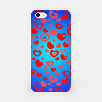Thumbnail image of Love in Blue iPhone Case, Live Heroes