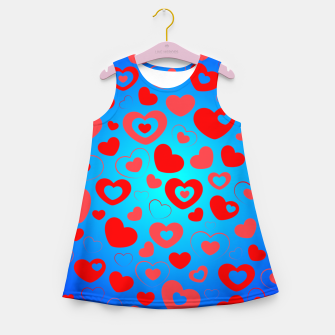 Thumbnail image of Love in Blue Girl's summer dress, Live Heroes