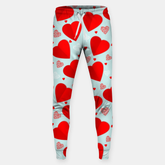 Thumbnail image of Valantine Hearts Sweatpants, Live Heroes