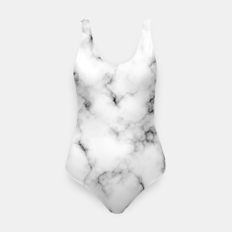 Thumbnail image of White faux marble Swimsuit, Live Heroes