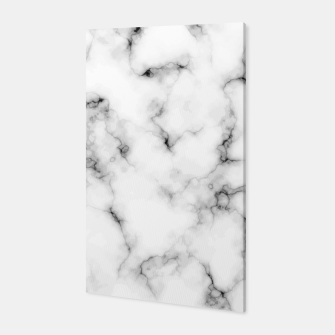 Thumbnail image of White faux marble Canvas, Live Heroes