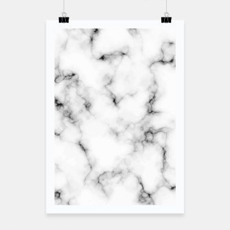 Miniatur White faux marble Poster, Live Heroes