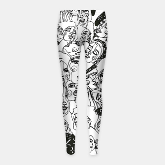 Thumbnail image of WOMEN'S WOMEN 02 Leggings para niña, Live Heroes