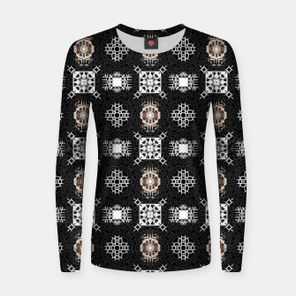 Thumbnail image of EM-C2R Pattern-0213010741 Women sweater, Live Heroes