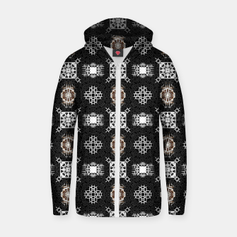 Thumbnail image of EM-C2R Pattern-0213010741 Zip up hoodie, Live Heroes