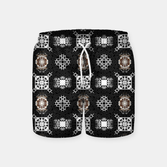 Thumbnail image of EM-C2R Pattern-0213010741 Swim Shorts, Live Heroes