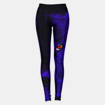 Miniature de image de arctic fox bicolor eyes ws diff Leggings, Live Heroes