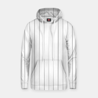 Bright Linear Abstract Print Hoodie Bild der Miniatur