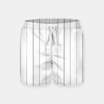 Bright Linear Abstract Print Swim Shorts Bild der Miniatur