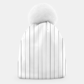 Bright Linear Abstract Print Beanie Bild der Miniatur