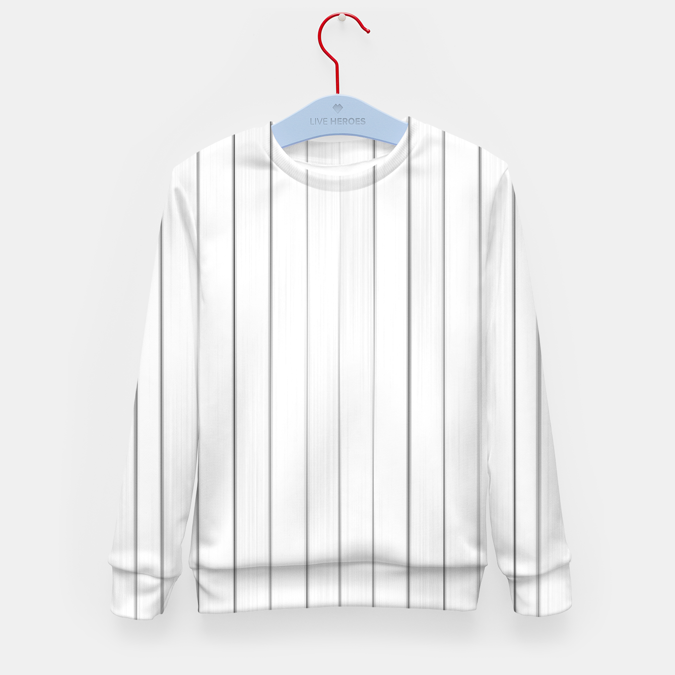 Foto Bright Linear Abstract Print Kid's sweater - Live Heroes