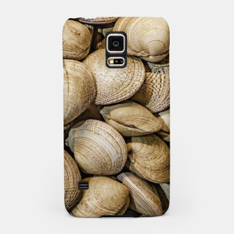 Miniaturka Shellfishs Photo Print Pattern Samsung Case, Live Heroes