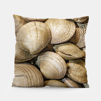 Miniaturka Shellfishs Photo Print Pattern Pillow, Live Heroes