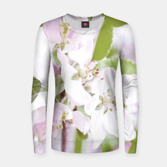 Thumbnail image of Apple Tree Blossoms Women sweater, Live Heroes