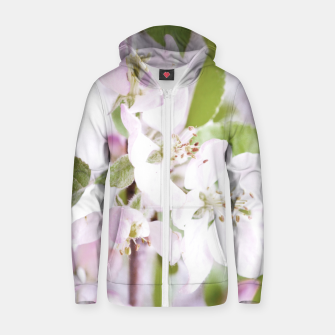 Thumbnail image of Apple Tree Blossoms Zip up hoodie, Live Heroes