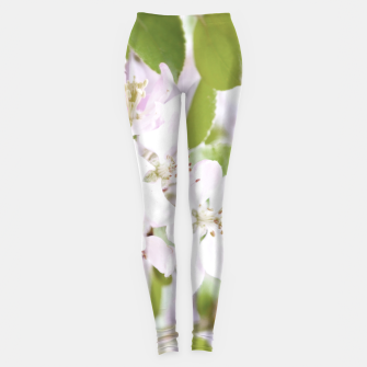Miniature de image de Apple Tree Blossoms Leggings, Live Heroes