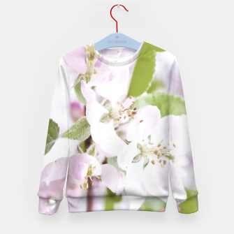 Thumbnail image of Apple Tree Blossoms Kid's sweater, Live Heroes