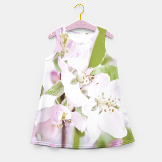 Thumbnail image of Apple Tree Blossoms Girl's summer dress, Live Heroes