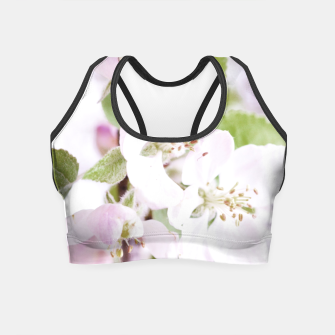 Thumbnail image of Apple Tree Blossoms Crop Top, Live Heroes
