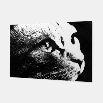 Thumbnail image of cat black&white Canvas, Live Heroes