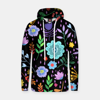 Thumbnail image of Cute colorfu flowers pattern Hoodie, Live Heroes