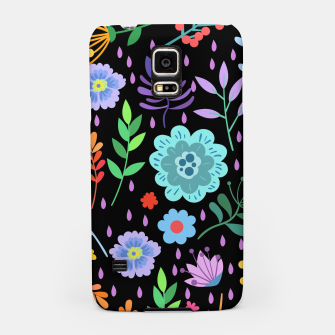 Thumbnail image of Cute colorfu flowers pattern Samsung Case, Live Heroes